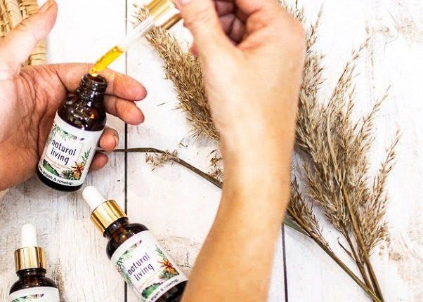 Natural Living Aloe, Argan and Rosehip Collagen Boosting Serum - 30ml