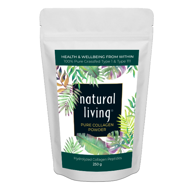 Pure Hydrolysed Grass-fed Collagen Powder in 250g Pouch
