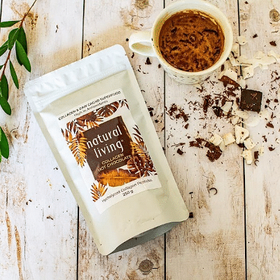 Pure Collagen Hot Chocolate Mix with Raw Cacao