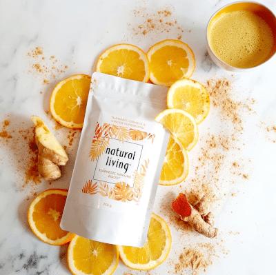 Tumeric Immune Boost with Orange and Ginger 250g